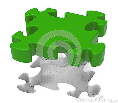 Puzzle Piece Shows Individual Object Problem
