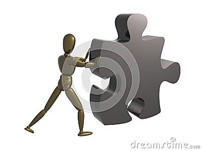 Puzzle piece solution
