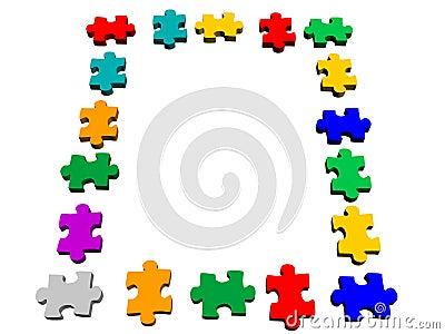 Puzzle piece square