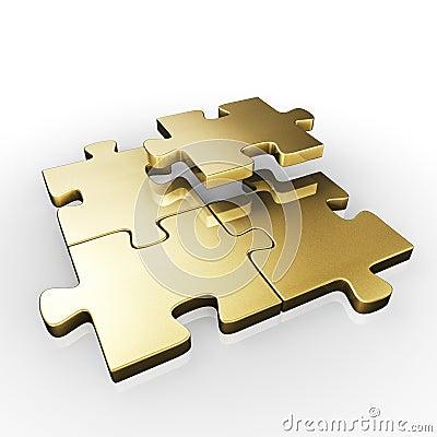 Free PUZZLE PIECES Stock Image - 15111311
