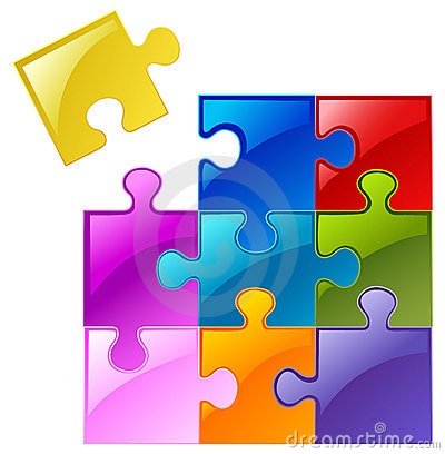 Free Puzzle Pieces Stock Photography - 20670282