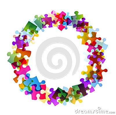 Puzzle in round