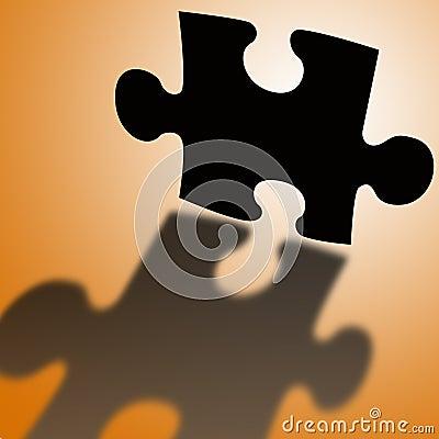 Puzzle shadow