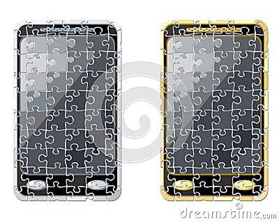Puzzle smart phone