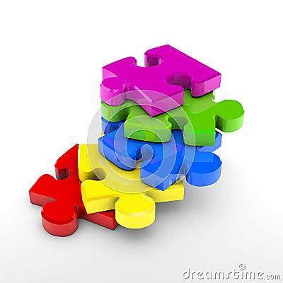 Puzzle steps