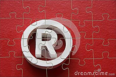 Puzzle of trademark