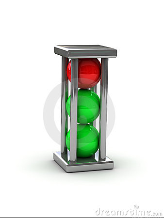 Puzzle - traffic light