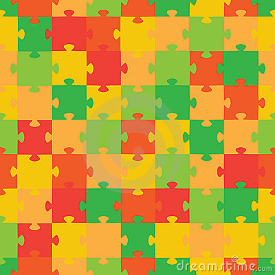 Puzzle. Vector illustration