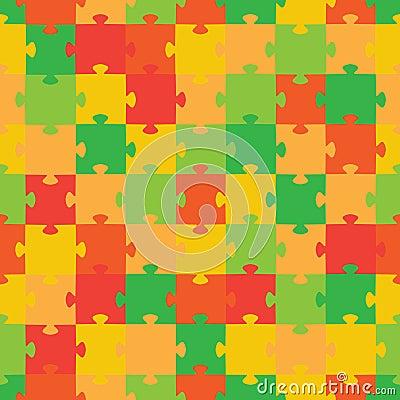 Puzzle. Vector illustration