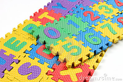 Puzzles of Alphabets and numbers