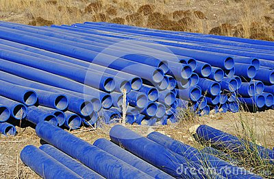 Pvc plastic pipes