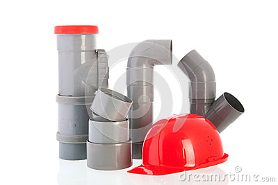 PVC tubes and pipes