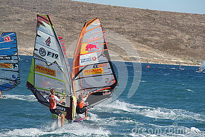 PWA 2012 alacati Editorial Stock Photo