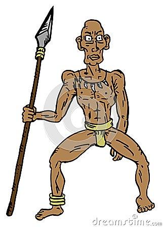 Pygmy man