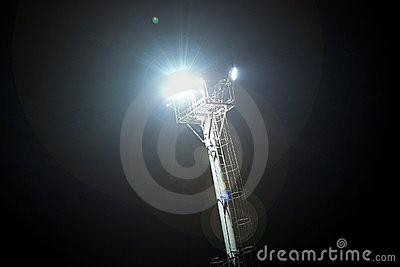 Pylon floodlight