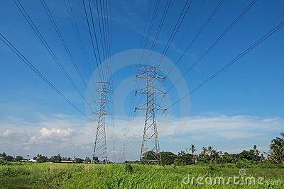 Pylon towers