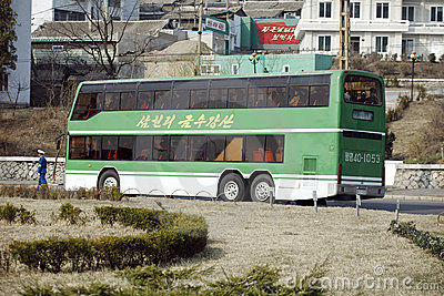 Pyongyang s public transport Editorial Photo