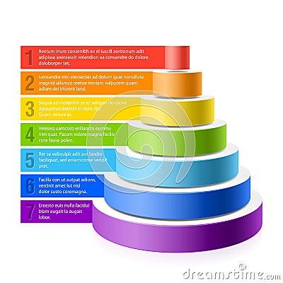 Free Pyramid Chart Stock Image - 26394291