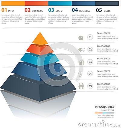 Free Pyramid Chart Stock Photography - 36086092