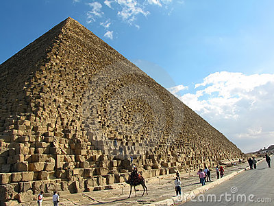 Pyramid of Cheops, Egypt