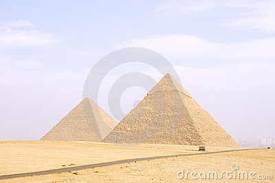 Pyramid of Cheops and Khafre