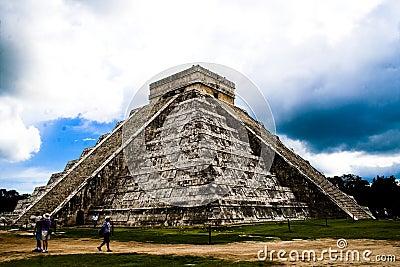 Pyramid of Chichen Itza, Mexico