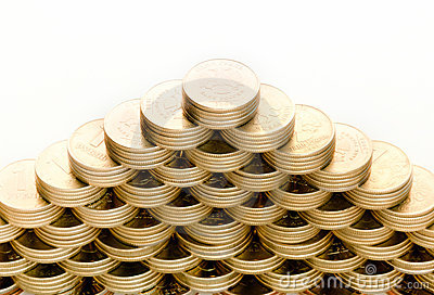 Pyramid of the coins