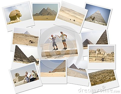Pyramid collage