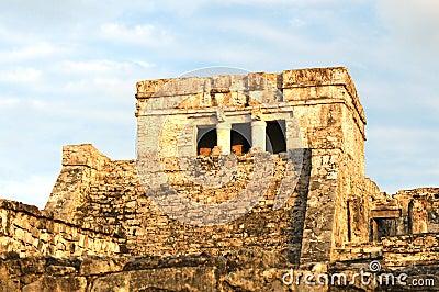 Pyramid El Castillo or The Castle in Mexico