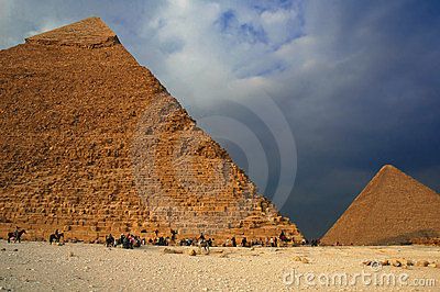 Pyramid in Giza 3