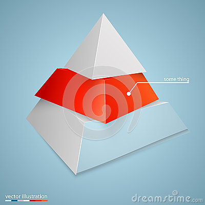 Free Pyramid Icon For Business Concept Background Royalty Free Stock Photo - 49616515