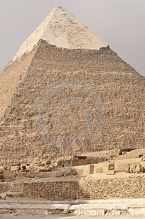 Pyramid of Khafre, Egypt.