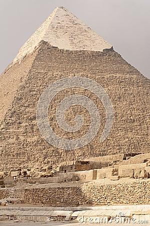 Pyramid of Khafre, Egypt.