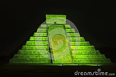 Pyramid of Kukulkan at Chichen Itza