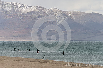 Pyramid Lake fishing tournament