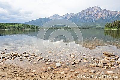 Pyramid Lake, Mountain, Alberta