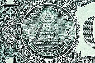 Pyramid on One Dollar Bill