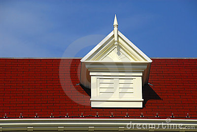 Pyramid Roof Vent With Louvre Stock Photos Image 3470673