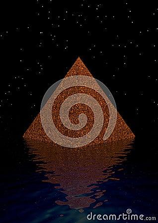 Pyramid and universe