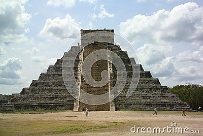 Pyramid in the yucatan
