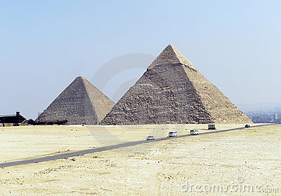 Pyramids of Egypt (two)