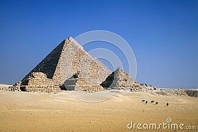 Pyramids on Horseback