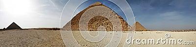 Pyramids panoramic