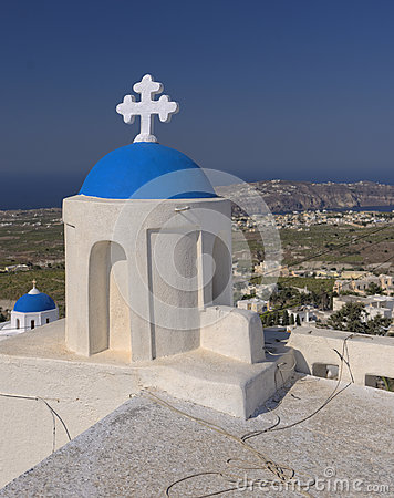 Pyrgos village, Santorini