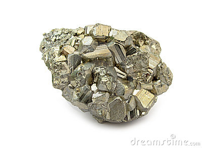 Pyrite stone mineral rock