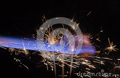 Pyrotechnic abstract