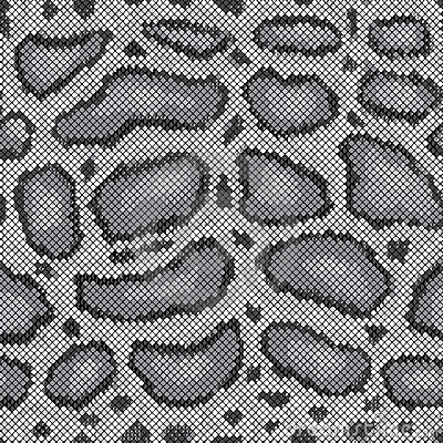 Python Pattern in Grey
