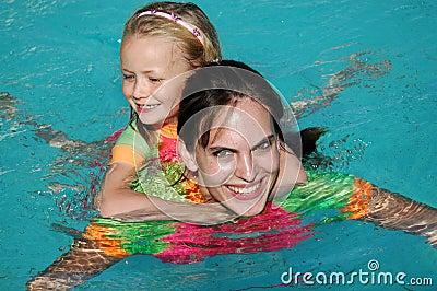 Pływać dziewczyn