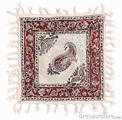 Qalamkar - printed calico, persian handicraft.