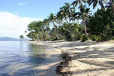 Qamea Resort Beach Fiji